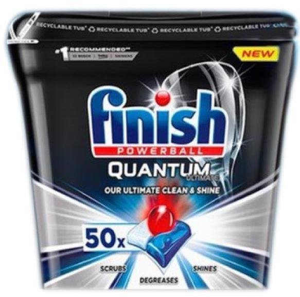 Finish Quantum Max Promo 50 Li Bulasik Makinasi Tableti