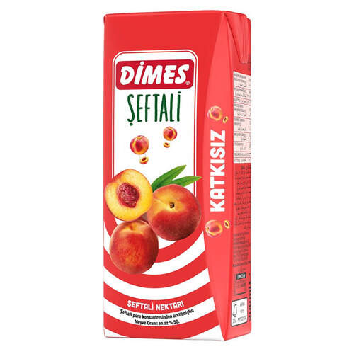 Dimes Meyve Suyu Şeftali 200 Ml.