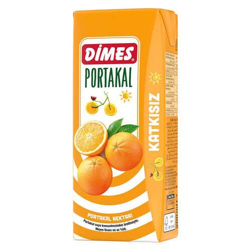 Dimes Meyve Suyu Portakal 200 Ml.