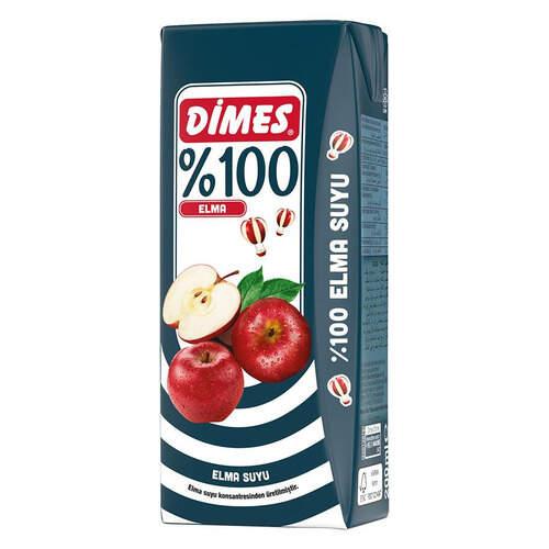 Dimes Meyve Suyu Elma 200 Ml.