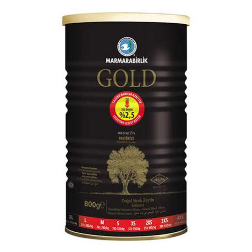 Marmarabirlik Gold Zeytin 800 Gr.
