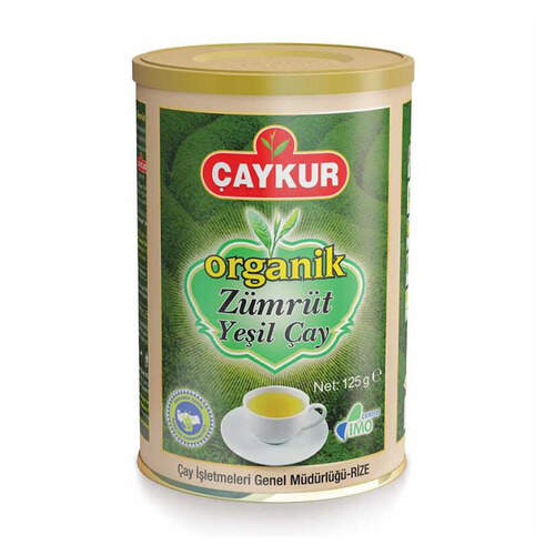 Çaykur Organik Zümrüt Yeşil Çay 125 Gr.