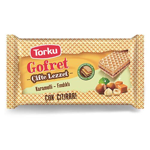 Torku Karamel Fındıklı Gofret 40 Gr.