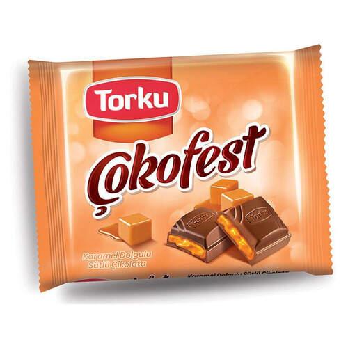 Torku Karamel Kare Çokofest 60 Gr.