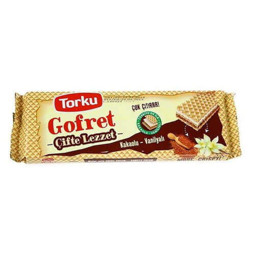 Torku Kakaolu Vanilyalı Gofret 142 Gr.