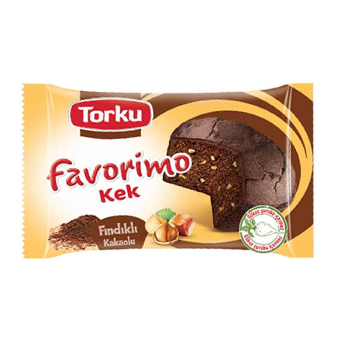 Torku Favorimo Kek Kakaolu Fındıklı 35 Gr.