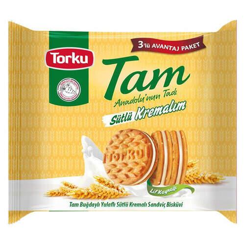Torku Tam Sütlü Kremalım 3x83 Gr.