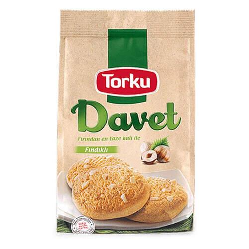 Torku Davet Fındıklı Bisküvi 180 Gr.