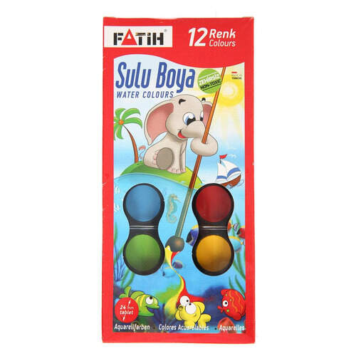Fatih Sulu Boya 12'li (s-12)