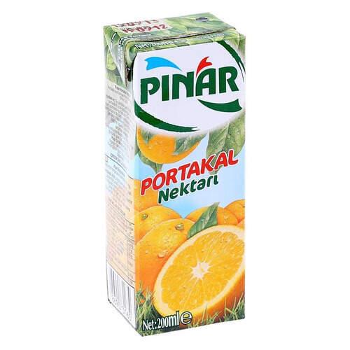 Pınar Meyve Suyu Portakal 200 Ml.