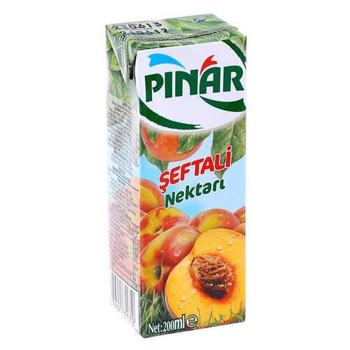 Pinar Meyve Suyu Seftali 200 Ml.
