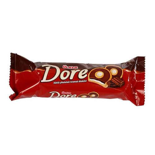 Ülker Dore Sade Krema Dolgulu Çikolata 86 Gr.