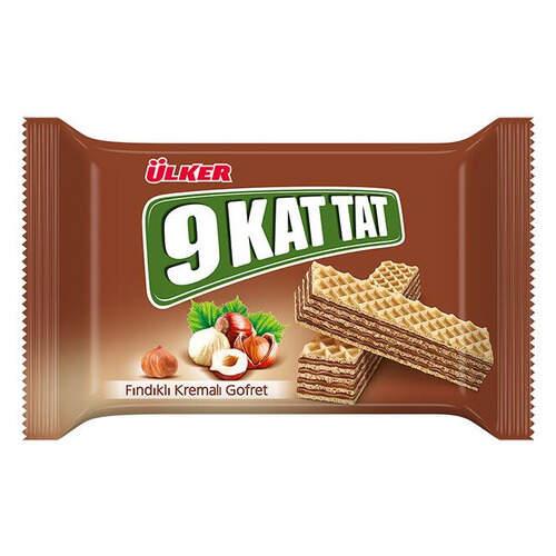 Ülker 9 Kat Tat Fındıklı Gofret 39 Gr.