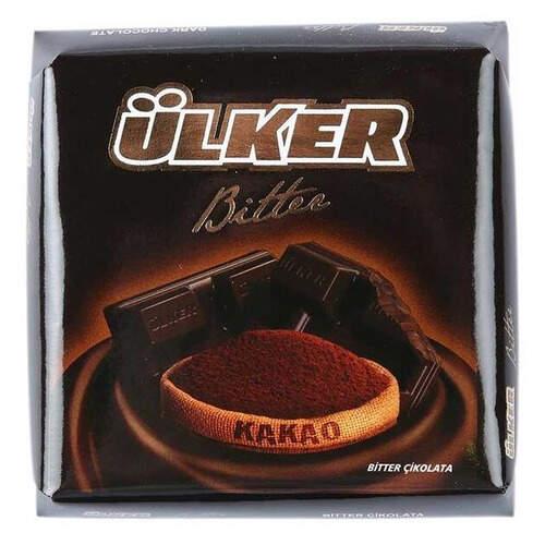 Ülker %60 Bitter Kare Çikolata 70 Gr.