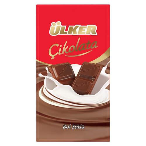 Ülker Tablet Sütlü Çikolata 80 Gr.