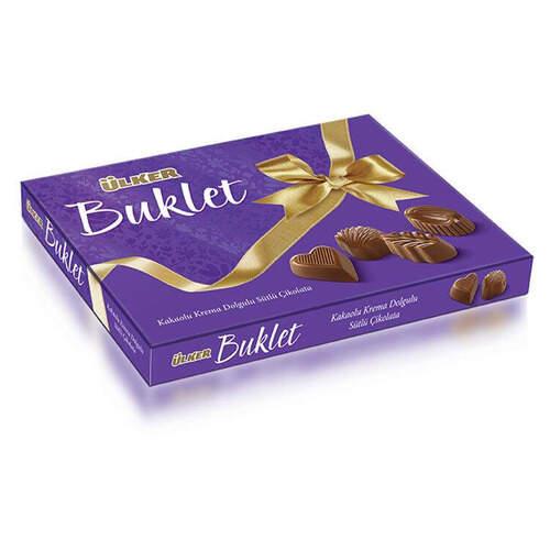 Ülker Kakaolu Dolgulu Buklet Çikolata 200 Gr.