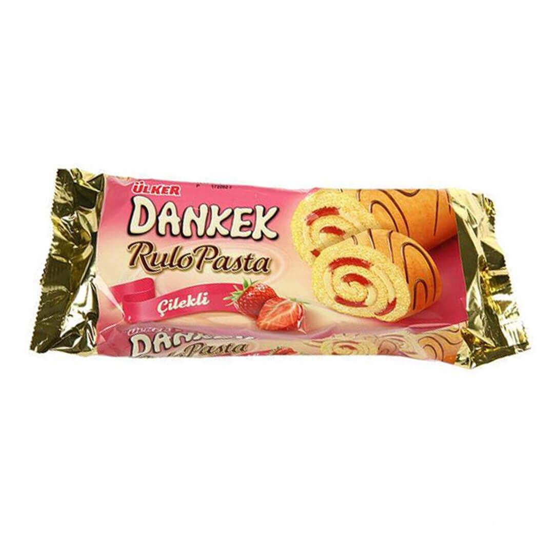 Ülker Dankek Rulo Pasta Çilekli 235 Gr.