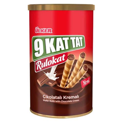 Ülker 9 Kat Rulokat Çikolatalı Gofret 170 Gr.