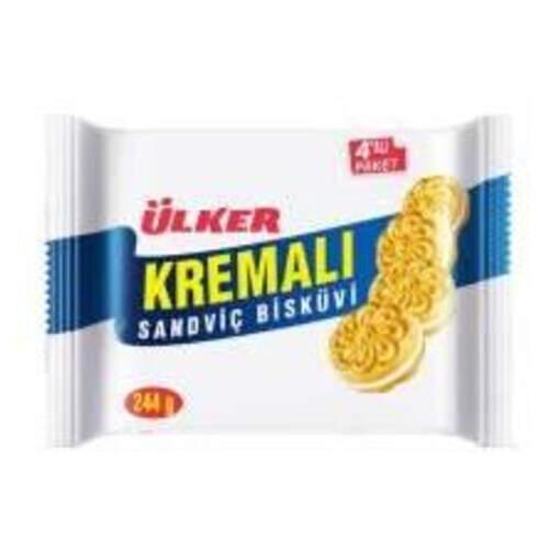 Ülker Kremalı Sandviç 4'lü Paket 304 Gr.