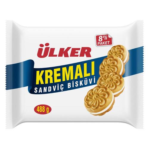 Ülker Kremalı Sandviç Bisküvi 552 Gr.