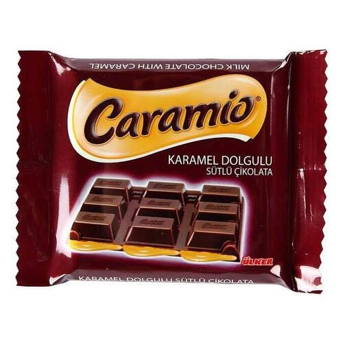 Ülker Caramio Karamelli Kare Çikolata 55 Gr.