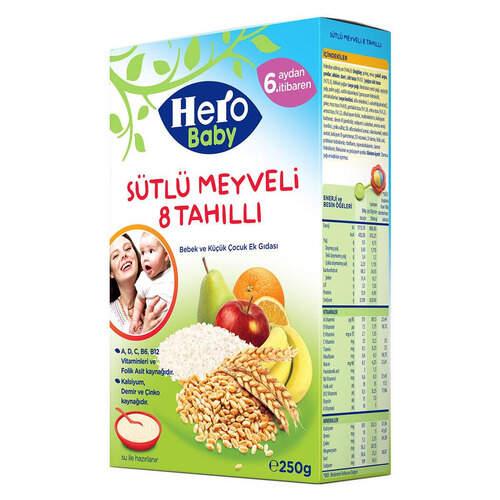 Ülker Hero Baby 8 Tahilli Sütlü Meyveli 200 Gr.