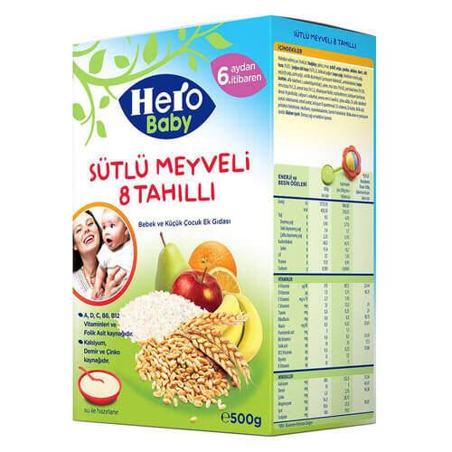 Ülker Hero Baby Sütlü Tahıllı 400 Gr