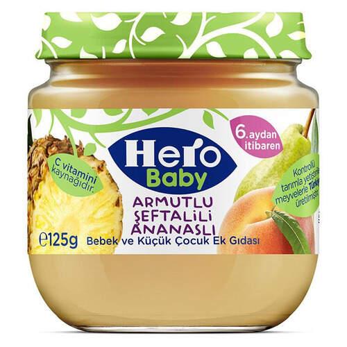 Ülker Hero Baby Armut Şeftali Ananas 125 Gr.