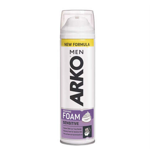 Arko Men Sensitive Traş Köpüğü 200 Ml.