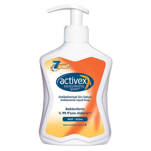 Activex Antibakteriyel Sıvı Sabun 300 Ml.