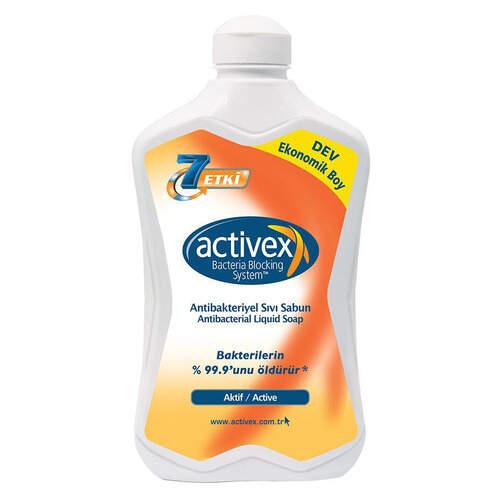 Activex Antibakteriyel Sıvı Sabun 1500 Ml.