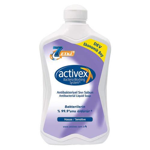 Activex Antibakteriyel Sıvı Sabun Hassas 1500 Ml.