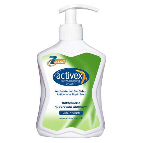 Activex Antibakteriyel Sıvı El Sabunu Doğal 300 Ml.