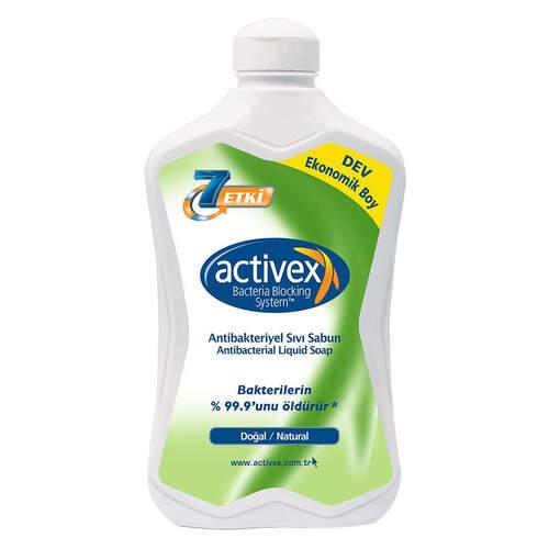 Activex Antibakteriyel Doğal Sıvı Sabun 1500 Ml.