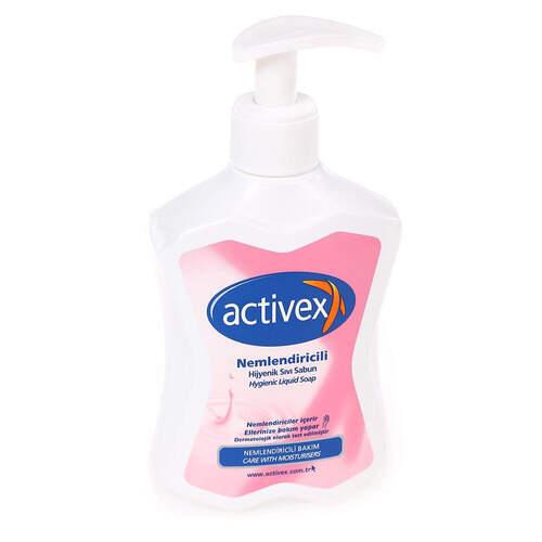 Activex Antibakteriyel Sıvı Sabun Nemlendirici 300 Ml.
