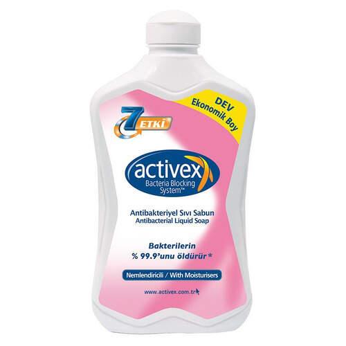 Activex Antibakteriyel Nemlendiricili Sıvı Sabun 1500 Ml.