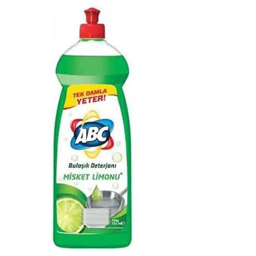 Abc Limon Sıvı Misket Bulaşık Deterjanı 685 Gr.