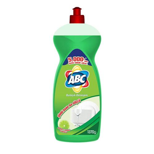 Abc Sıvı Bulasık Deterjanı Misket Limon Kokulu 1370 Ml.