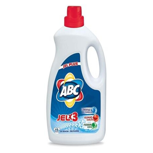 Abc Sıvı Deterjan Renkli Beyaz 15 Yıkama 975 Ml