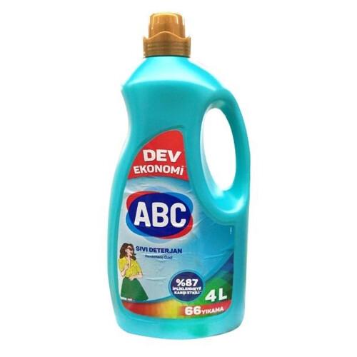 Abc Sıvı Deterjan Renkliler 4 L