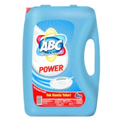 Abc Power Sıvı Bulaşık Deterjanı 4000 Ml.