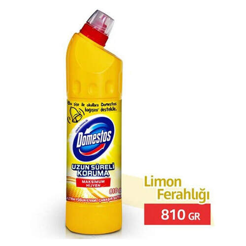 Domestos Limon Ferahlığı Ultra Yoğun Çamaşır Suyu 810 Ml.