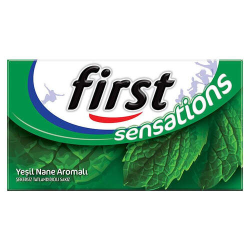 First Sensations Yeşil Nane 27 Gr.