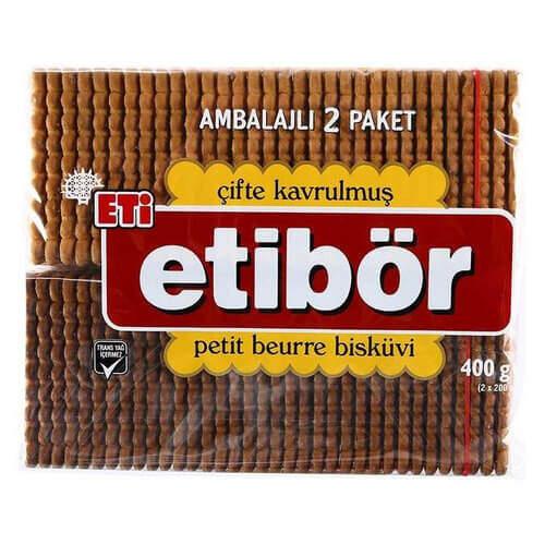 Eti Petit Beurre Çifte Kavrulmuş Bisküvi 400 Gr.