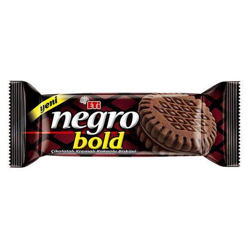 Eti Negro Bold Kakaolu Bisküvi 120 Gr.