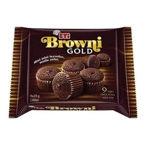 Eti Browni Gold Mini Çikolatalı Kek 180 Gr.