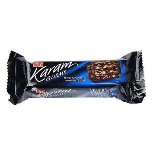 Eti Karam Gurme Bitter Çikolatalı Gofret 50 Gr.