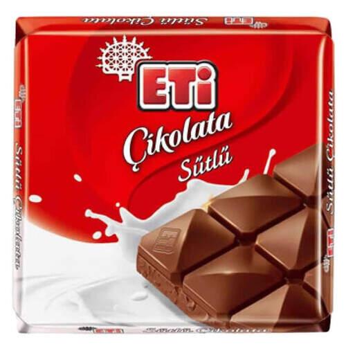 Eti Kare Sütlü Çikolata 70 Gr.
