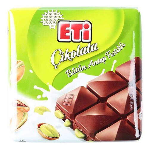 Eti Antep Fıstıklı Kare Çikolata 70 Gr.