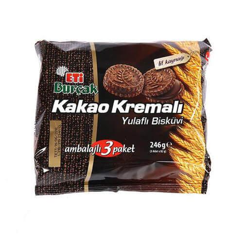 Eti Burçak Kakao Kremalı 246 Gr.
